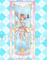 CCS Magical Girl Clear Card Bookmark by arisa-chibara