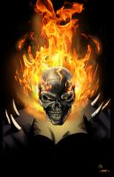 Ghost Rider by JHB by spidey0318