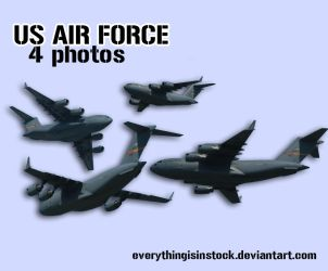 Stock 0116 - US Air Force Pack by EverythingIsInStock