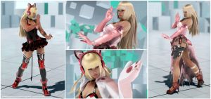 Lili Wedding Dress and Chloe1p [Tekken 7 PC Mod] by Abrikatin