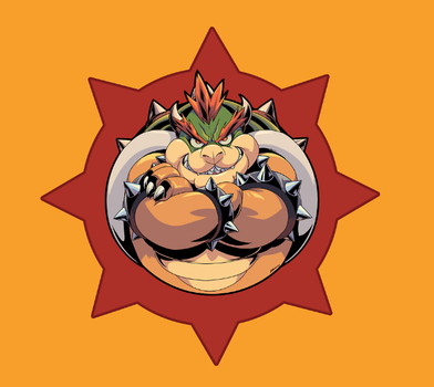 Hail Bowser by E-Mann