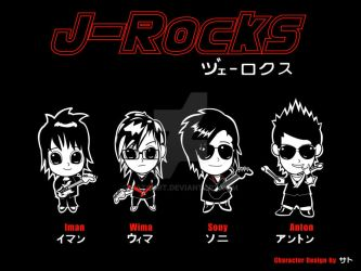 J-RockS band  -kau curi lagi- by SATOart