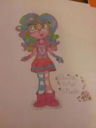 Claire-Petal-Splash  (Traditional) by ClaireAimee