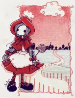little red riding hood. by coniro