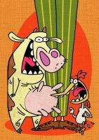 cow n chicken by hiugo