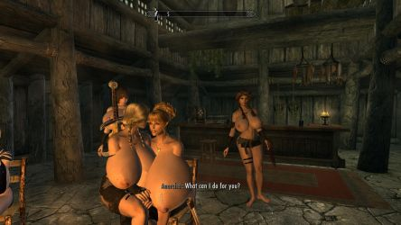 Skyrim, heavily modded 6! Heating up! by anglosaxoncelt
