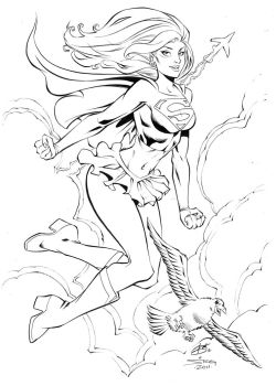 SUPERGIRL by bathill8