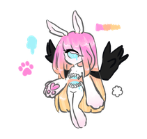 Bunny Anonyxis - 1 point AUCTION - CLOSED by MaiaSadoptsNstuff