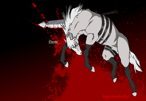 Devil May Cry Horses: Dante by nightwindwolf95