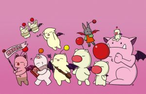 Moogle March by ThePockyGirl