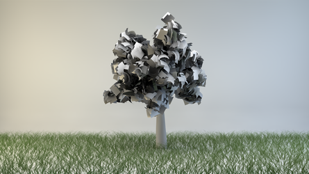 Paper Tree by BuffetKiller