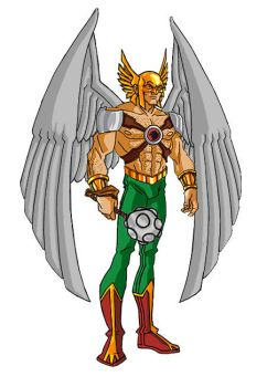 Hawkman by Pax-Chi