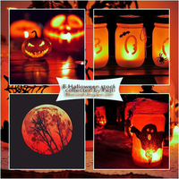 (2) Stock Pack - Halloween by CatchMeBabyy