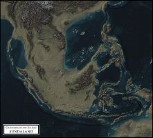 Coastlines of the Ice Age - Sundaland by atlas-v7x