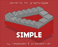 Simple patterns cover by ReSampled