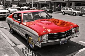 1972 Chevy Chevelle SS II by E-Davila-Photography