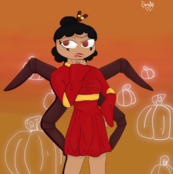 Happy October! (with some higanbana updates) by SilverCandyDeath