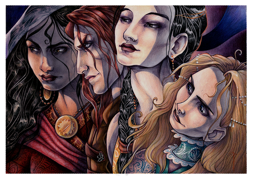 Daughters of Sand and Sun by ProKriK