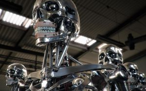 Robot Endoskeleton 2 by tomisaksen