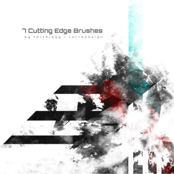 7 Cutting Edge PS Brushes by Fortelegy