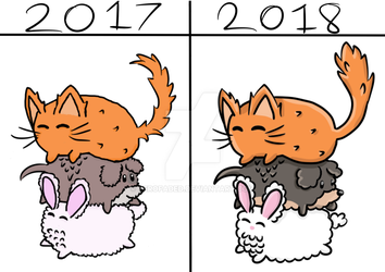 Self Improvement 2017 to 2018 by ZeroFaded