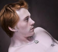 Rupert Grint Painting V2 by arthurforzus