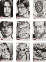 Star Wars Galaxy Cards 6 by prmedia