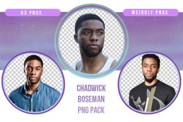 Chadwick Boseman PNG Pack by Weirdly-PNGS