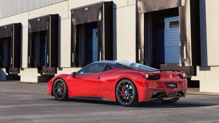 Ferrari458Italia Outdoor  01 by NasG85
