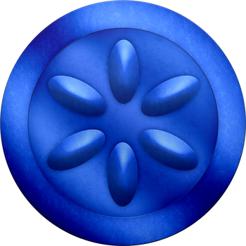 OOT Water Medallion by BLUEamnesiac