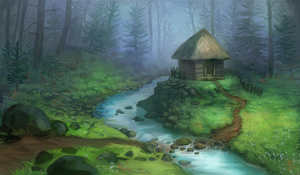 Forest House by Vindrea