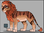 Ginger Beauty by Sukida-Adopts