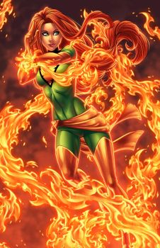 Jamie Fay's Phoenix Colors by DStPierre