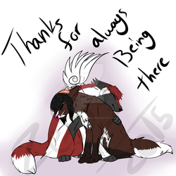 Thank You By Zeffy Badwolf by theliondemon-kaimra