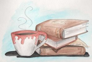 Colliding Worlds: Watercolor Books by DragonPress