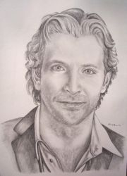 Bradley Cooper Drawing by GateJunkie