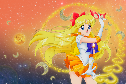 Sailor Venus Bluray Crystal cover style by AlbertoSanCami