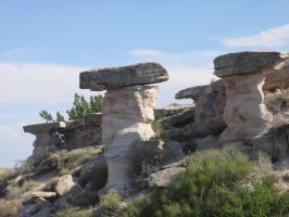 Rock Pillars by dappledstock