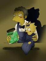 Moe, Maggs and the Jar of Eggs by mr-book-faced