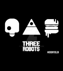 Love. Death and Robots - Three Robots- by moonfist1