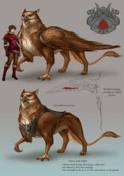Red wing griffin by sandara