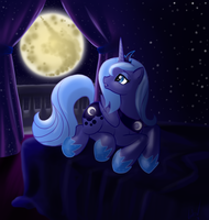 Let the stars be my nightlight by VertreV