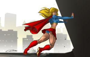 Supergirl by Gilmec