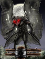 The Mothman by TheDragonofDoom