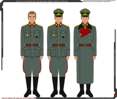 Overview of Walter Wenck's Uniforms by Grand-Lobster-King