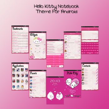 Hello Kitty theme for Android by LadyPinkilicious