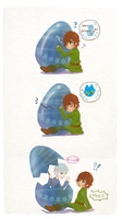 Hiccup and Egg by hiraco