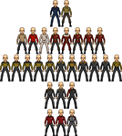 Starfleet Uniform Templates by SpiderTrekfan616