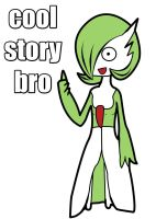 Gardevoir Cool Story Bro by Resistance-Of-Faith