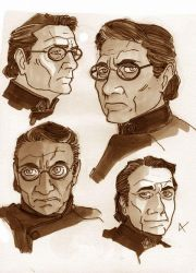 BSG 02 - Bill Adama by VanOxymore